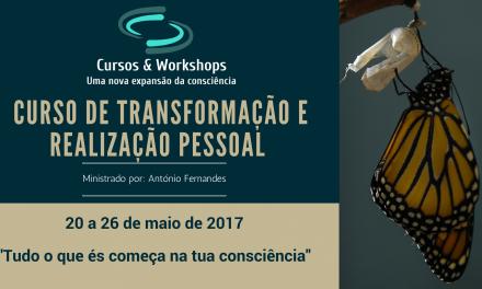CURSO DE TRANSFORMAÇÃO E REALIZAÇÃO PESSOAL